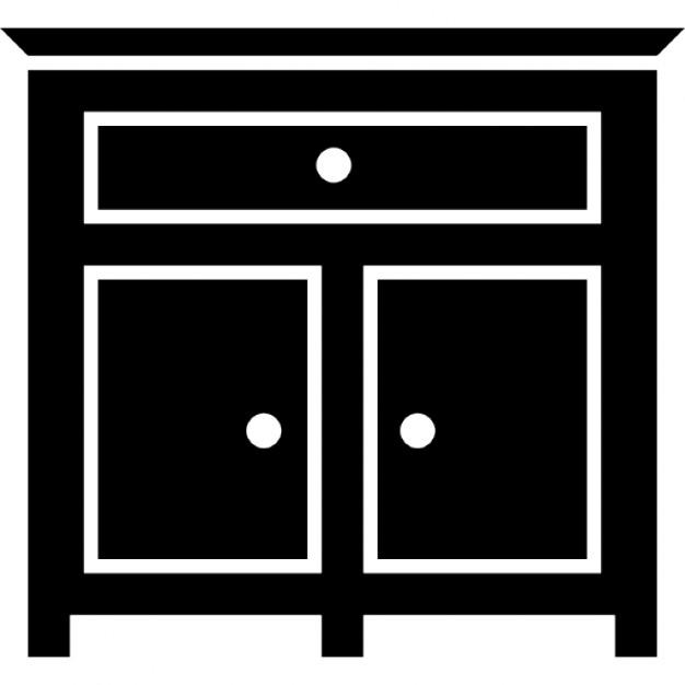 Slaapkamer lade meubilair iconen gratis download - Tienerjongen slaapkamer ...