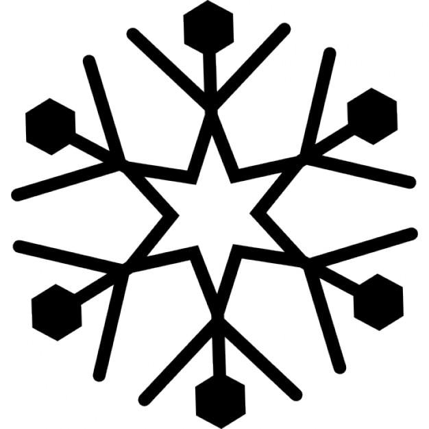 sneeuwkristal iconen gratis