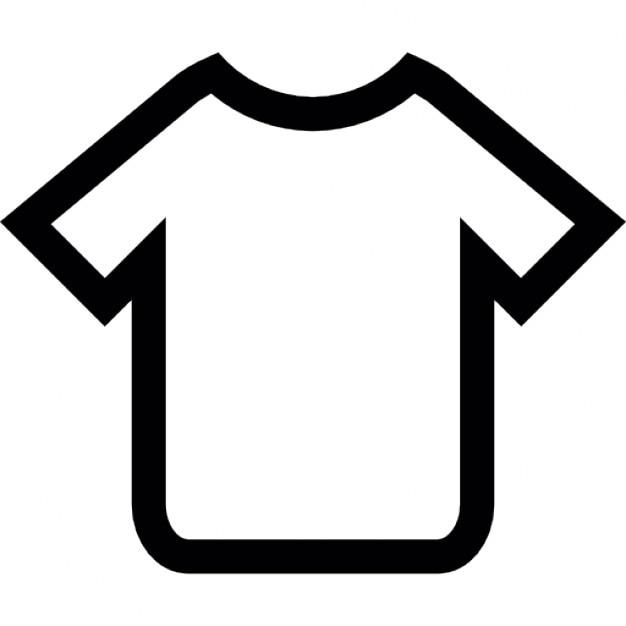 T Shirt Overzicht Iconen Gratis Download