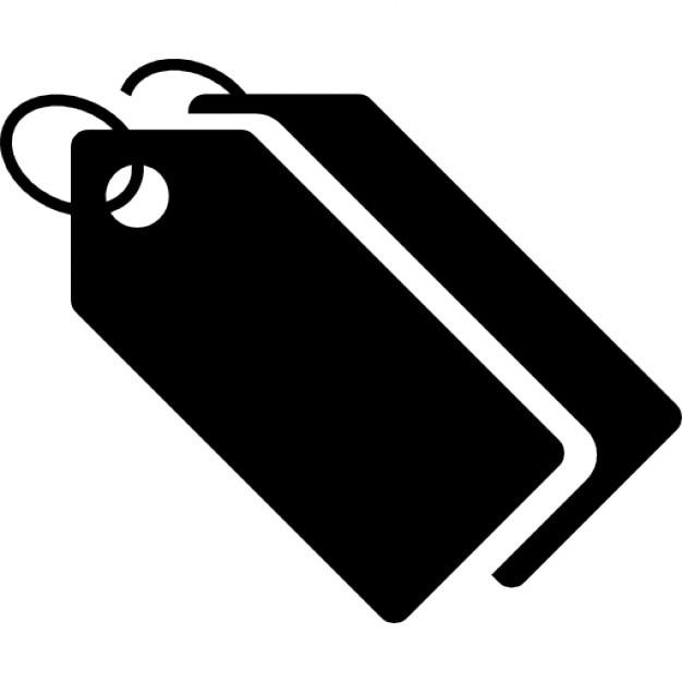 Tags zwart echtpaar met ringen iconen gratis download
