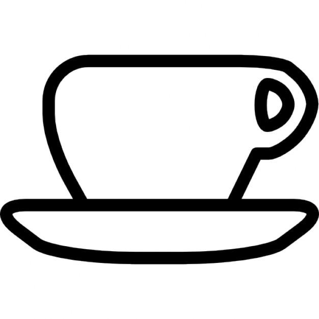 kopje thee kleurplaat theekopje en schotel overzicht