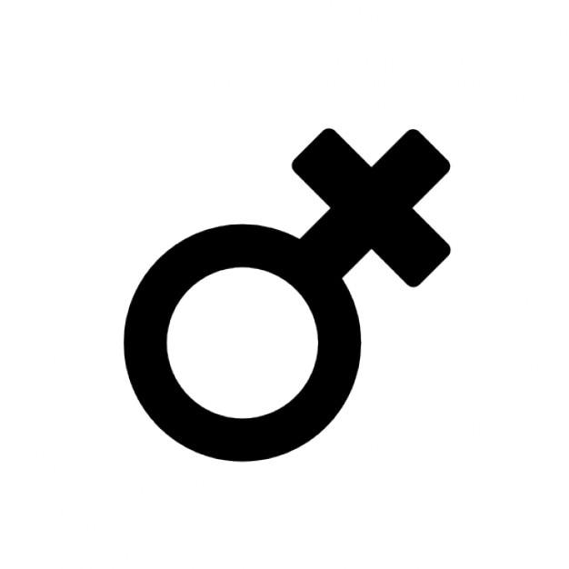 Vrouwelijke symbool Gratis Icoon