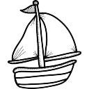 Afbeeldingsresultaat voor icoon zeilboot