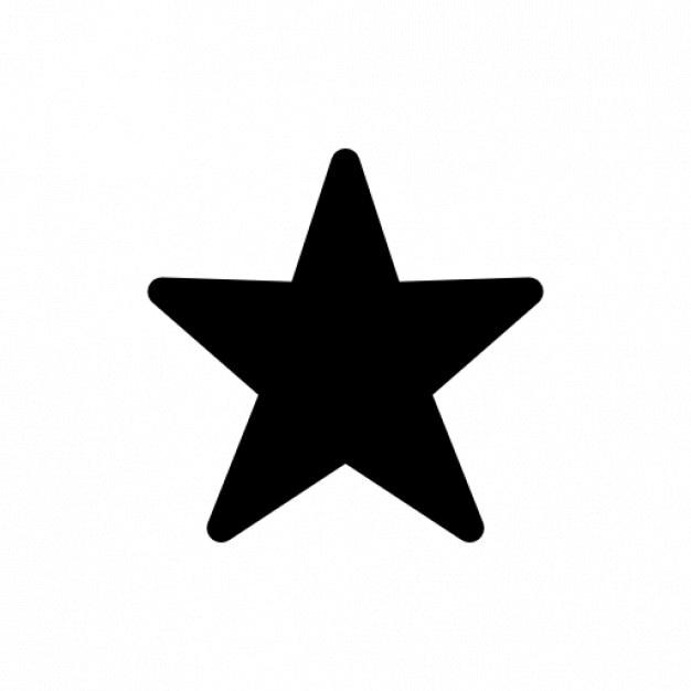 A estrela Ícone grátis