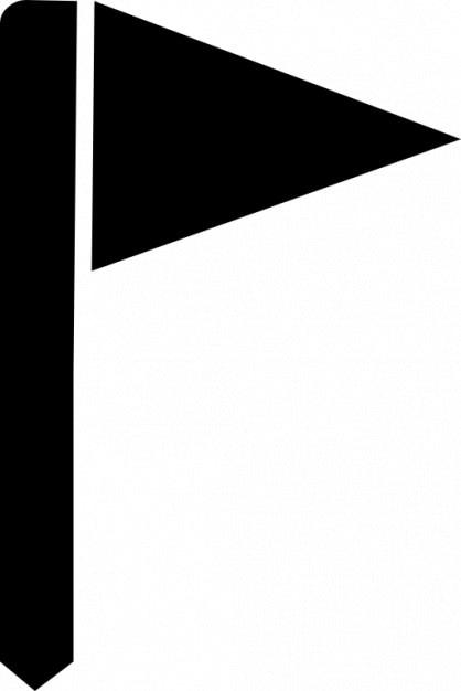 Bandeira do golfe Ícone grátis