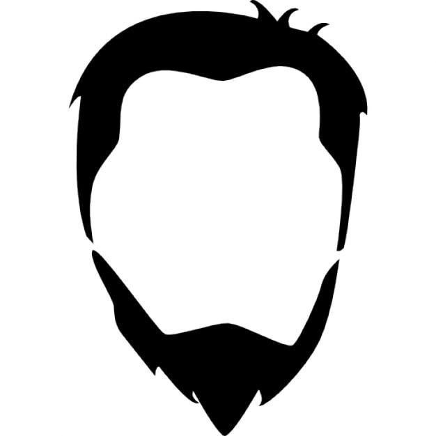 cabe u00e7a cabelo masculino e barba download  u00cdcones gratuitos clip art mustache free clipart mustache silhouette