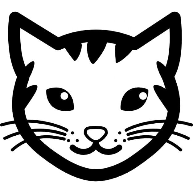 cara do gato stripy download Ícones gratuitos