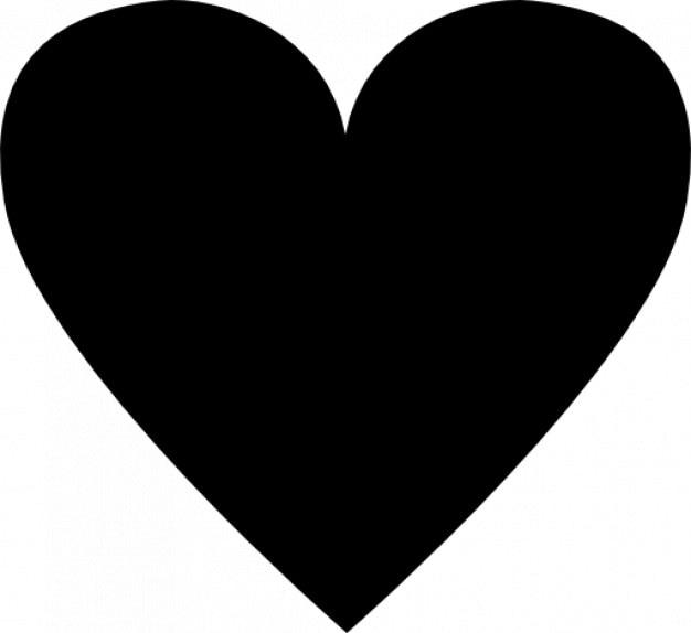 Resultado de imagem para coração black