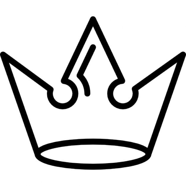 Muitas vezes Coroa de desenho real | Download Ícones gratuitos JQ59