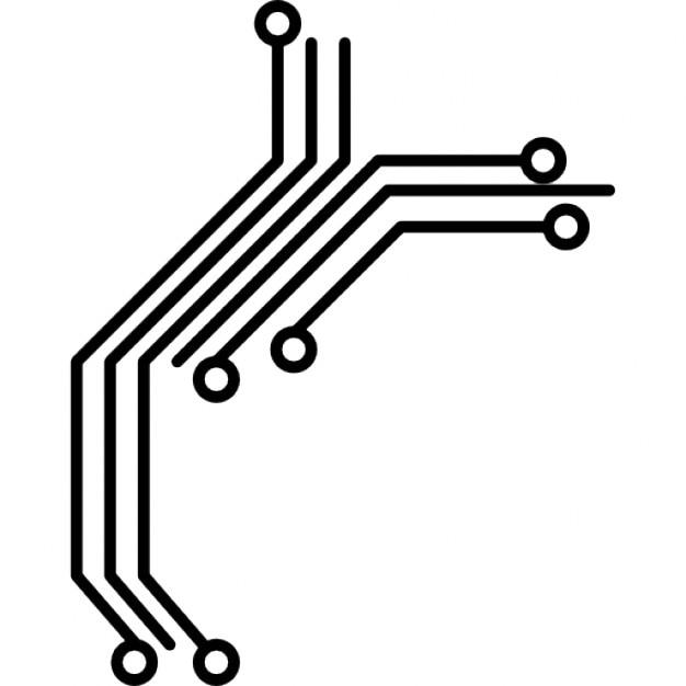 Circuito Eletronica : Circuito impresso vetores e fotos baixar gratis