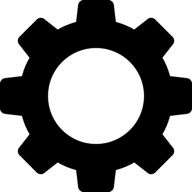 engrenagem download  u00cdcones gratuitos gear vector art gear vector free download