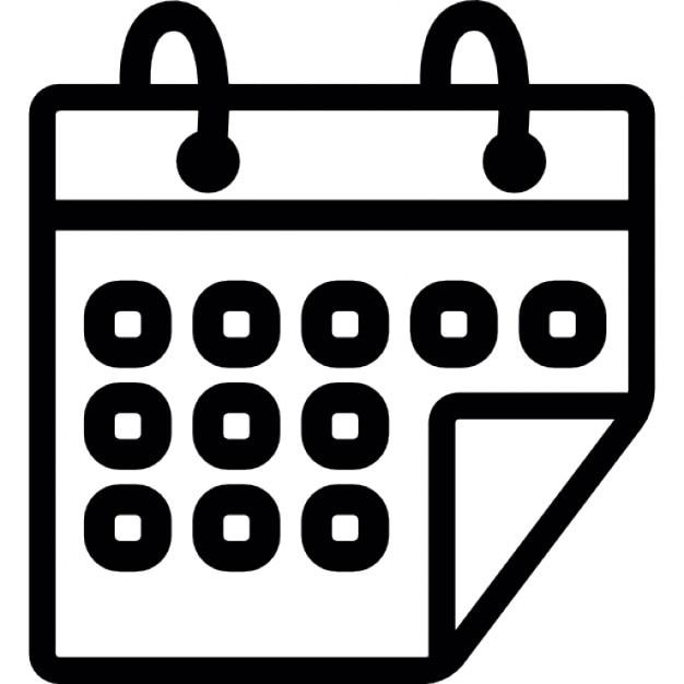 Calendar Booking Icon : Eventos página do calendário download Ícones gratuitos