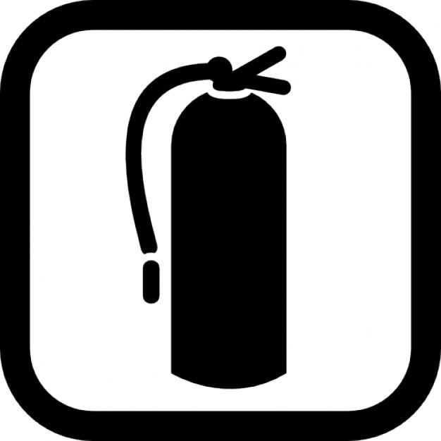 Fire extinguisher in da ass