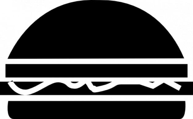 Hambuger fastfood Ícone grátis