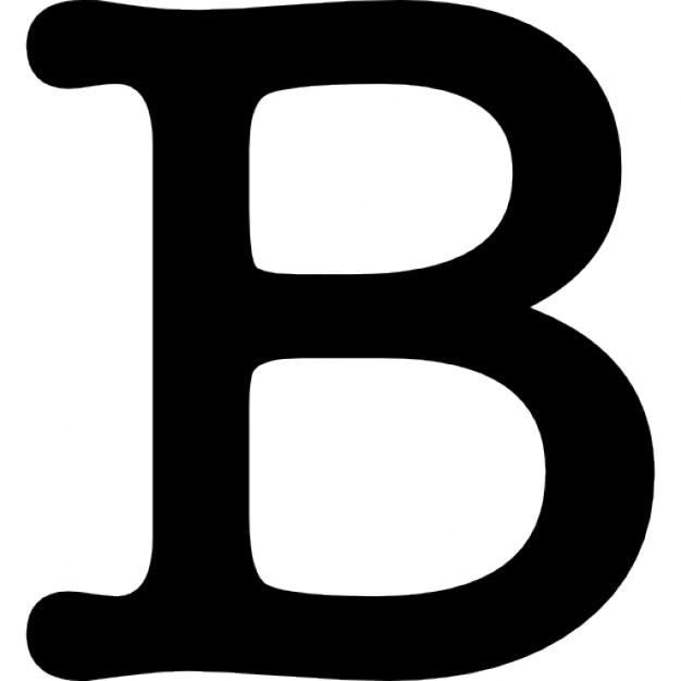 Ordinary B&q Kitchen Tiles Ideas Part - 9: Letra B Símbolo Ícone Grátis