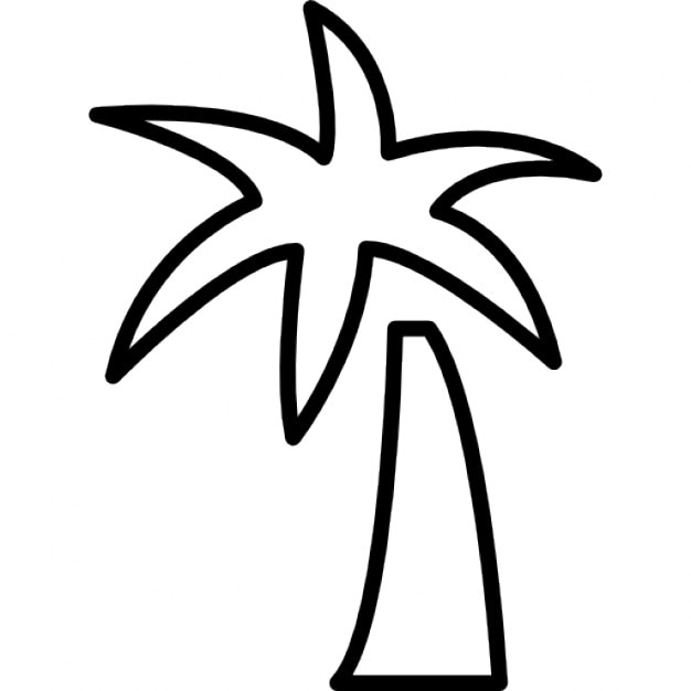 Palmeira Tropical Cones Gratuitos