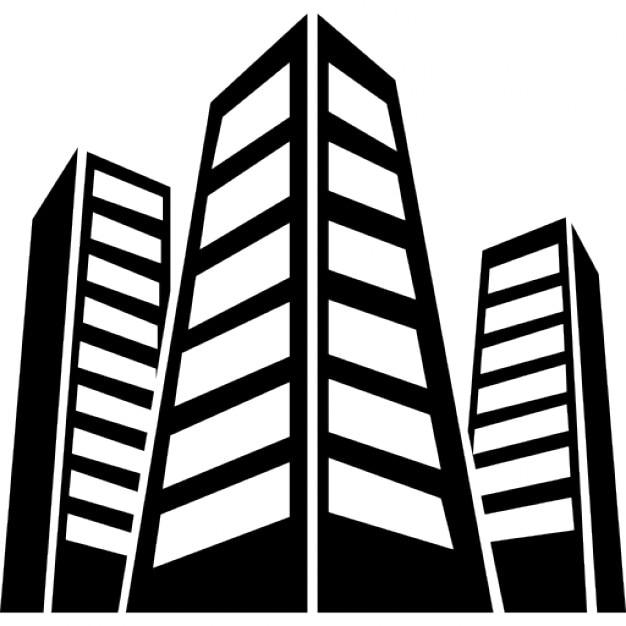pr u00e9dios urbanos download  u00cdcones gratuitos skyscraper clipart black and white skyscraper buildings clipart