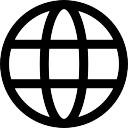 Rede mundial de computadores Ícone grátis