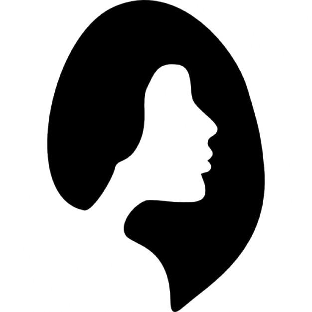 Símbolo cabeleireiro feminino  Download Ícones gratuitos -> Banheiro Feminino Simbolo