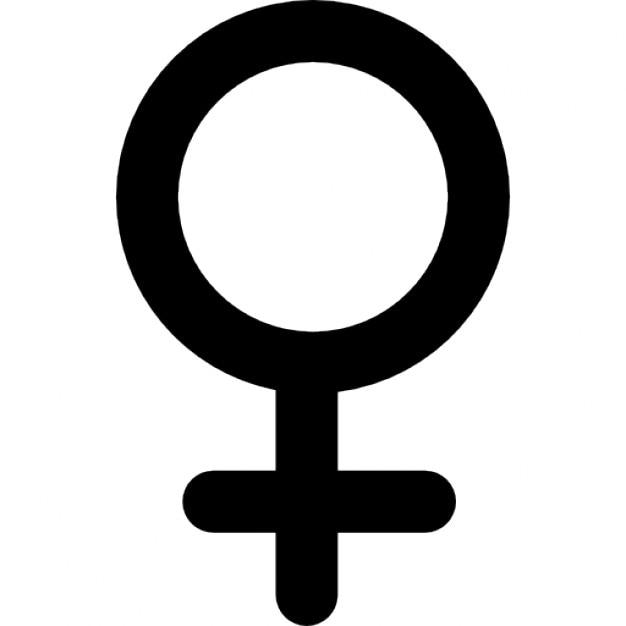 Símbolo do género feminino  Download Ícones gratuitos -> Simbolo Banheiro Feminino E Masculino