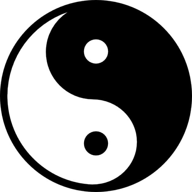 S mbolo variante yin yang download cones gratuitos for Yin yang raumgestaltung