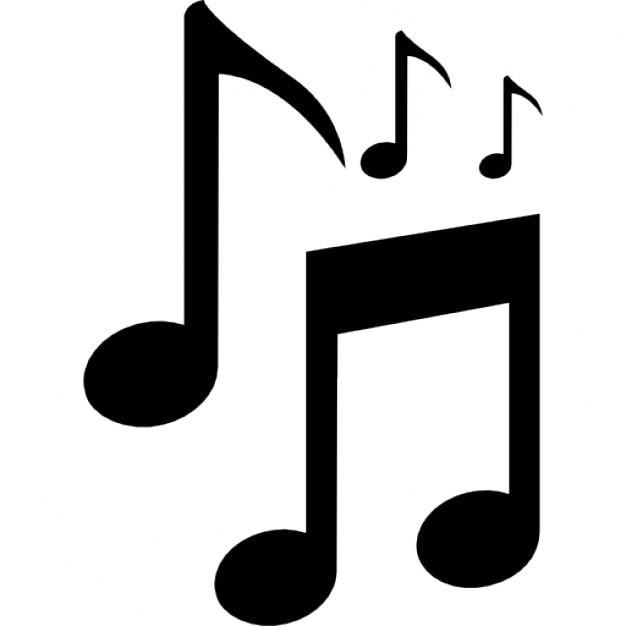 símbolo de musica notas