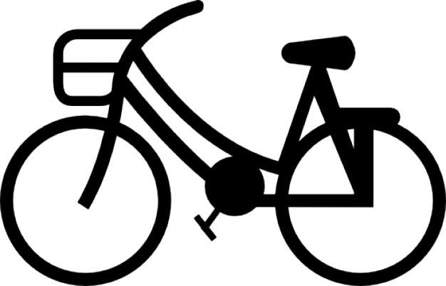 Uma bicicleta Ícone grátis