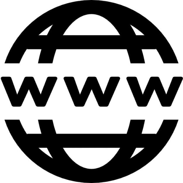 World wide web Ícone grátis