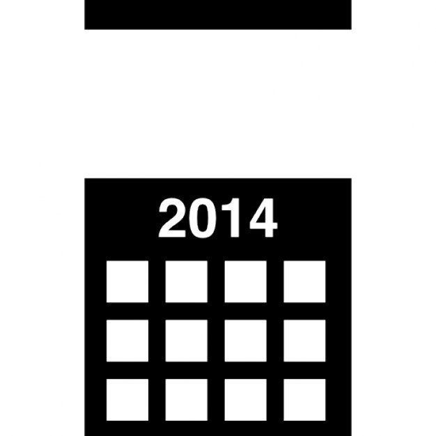 2014 calendrier mural t l charger icons gratuitement for Calendrier mural gratuit