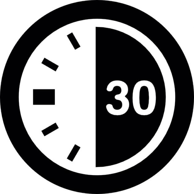 30 secondes sur une minuterie t l charger icons gratuitement. Black Bedroom Furniture Sets. Home Design Ideas