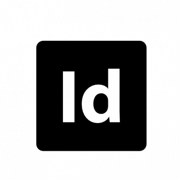 logo facebook indesign