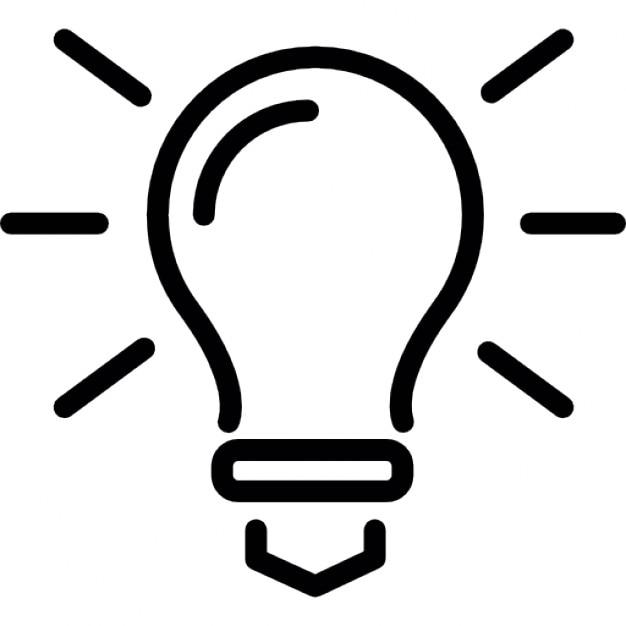 ampoule plan lumi re symbole des id es t l charger. Black Bedroom Furniture Sets. Home Design Ideas