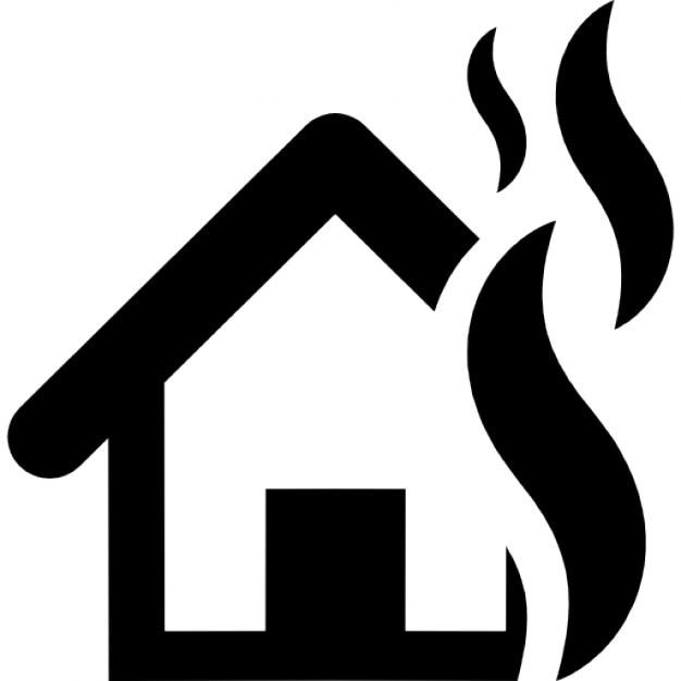 Assurance incendie t l charger icons gratuitement for Assurance incendie maison