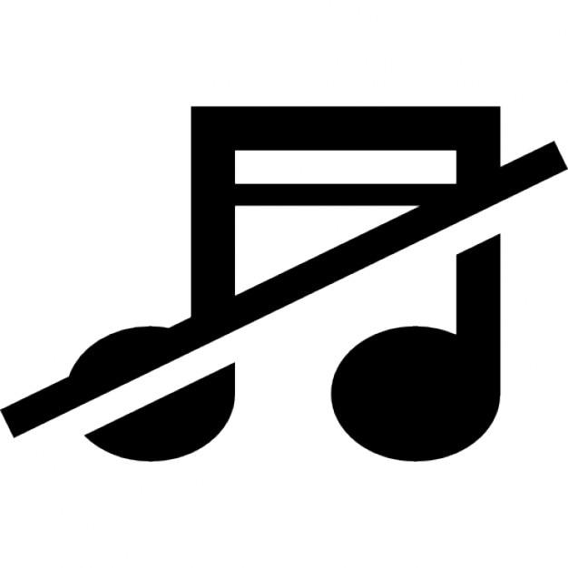 Aucun signe de la musique de note de musique avec une for Musique barre danse classique gratuite