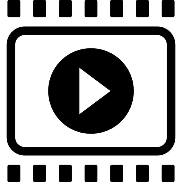 Bande de film avec la fl che droite symbole d 39 interface - Clipart cinema gratuit ...