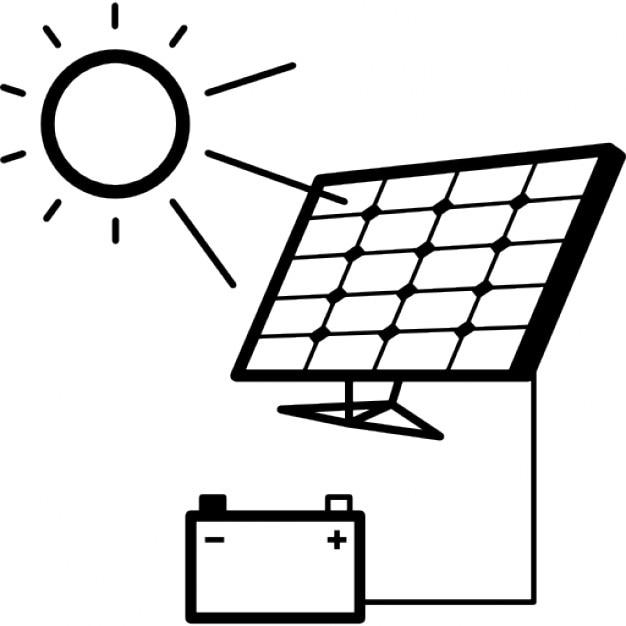 Charge de la batterie avec panneau solaire t l charger for Qu est ce qu un panneau solaire