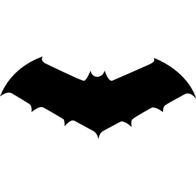 Chauve souris de taille moyenne variante silhouette t l charger icons gratuitement - Image de chauve souris ...