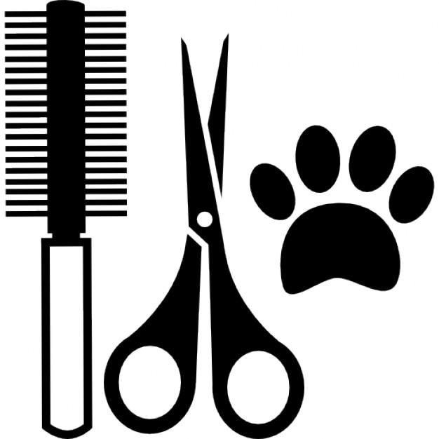 Cheveux animaux outils de salon kit t l charger icons - Salon de chat gratuit ...