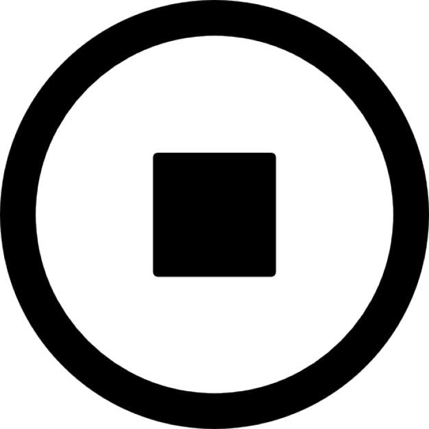 Cicle arrêt Icons gratuit