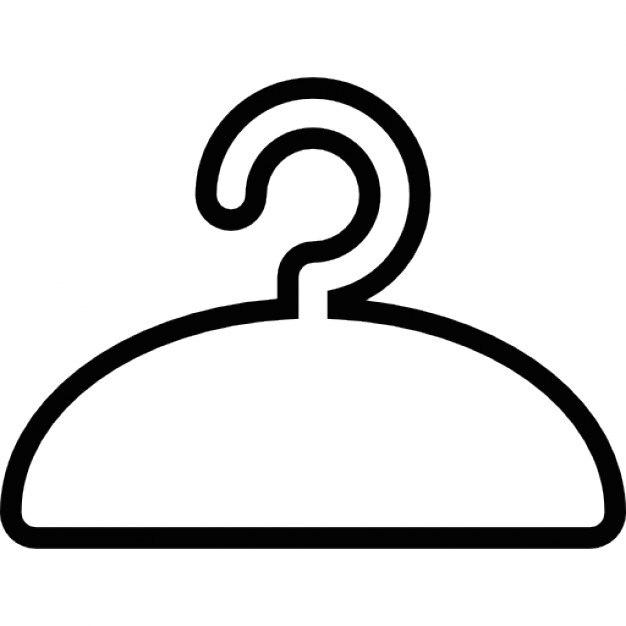 cintre pour v tements symbole ios 7 de l 39 interface t l charger icons gratuitement. Black Bedroom Furniture Sets. Home Design Ideas