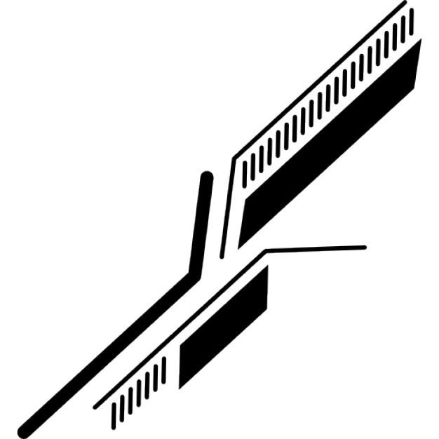 circuit imprim u00e9  u00e9lectronique lignes diagonales