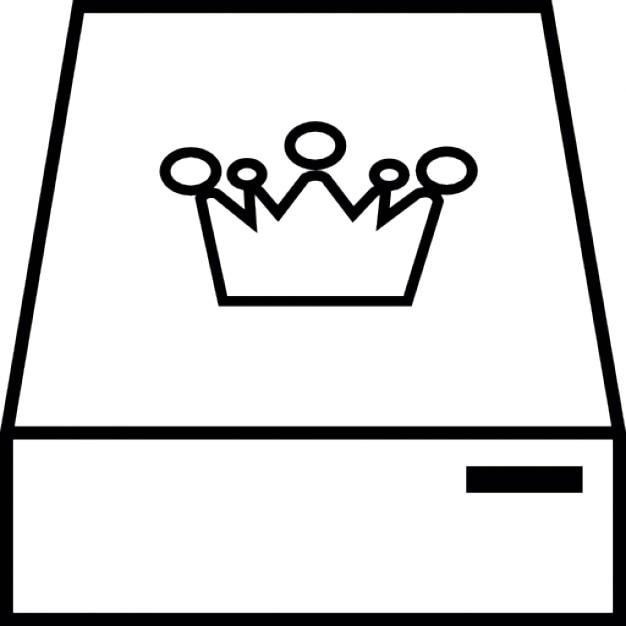 conduire avec une couronne t l charger icons gratuitement. Black Bedroom Furniture Sets. Home Design Ideas