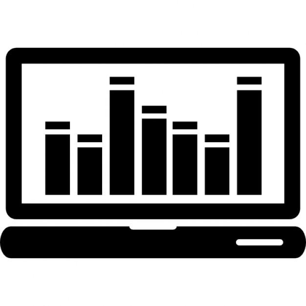 Cran d 39 ordinateur avec des barres de musique for Musique barre danse classique gratuite