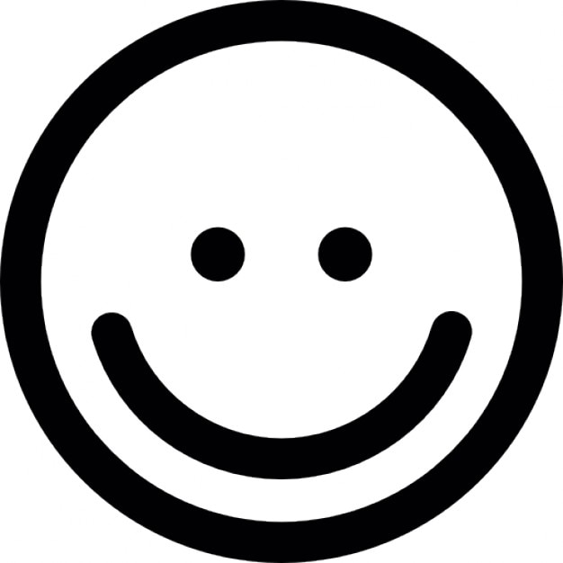 Line Drawing Of Happy Face : émoticône sourire ios symbole de l interface