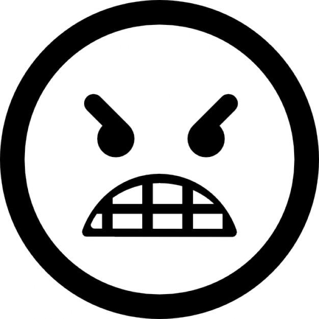 Motic ne visage en col re t l charger icons gratuitement - Smiley en noir et blanc ...
