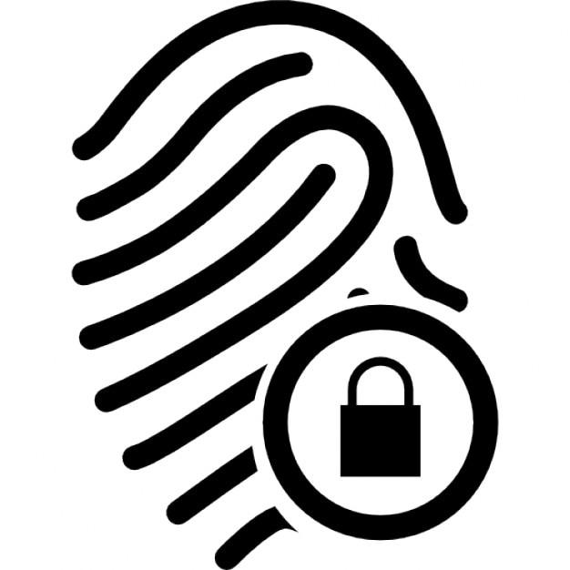 Gut bekannt Empreinte digitale avec sécurité | Télécharger Icons gratuitement WG83