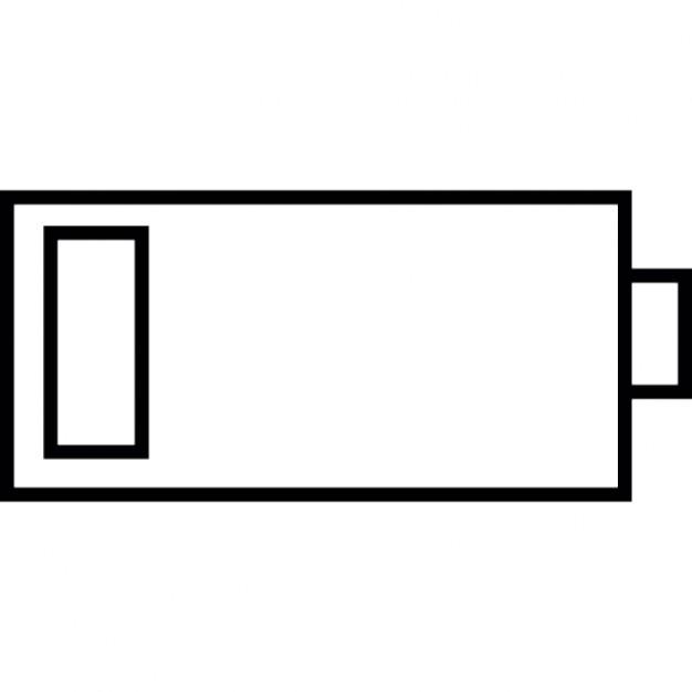 tat de la batterie 20 pour cent t l charger icons gratuitement. Black Bedroom Furniture Sets. Home Design Ideas