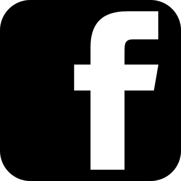 logo facebook monochrome