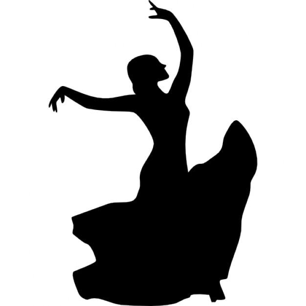 Femme danseuse de flamenco t l charger icons gratuitement - Danseuse flamenco dessin ...
