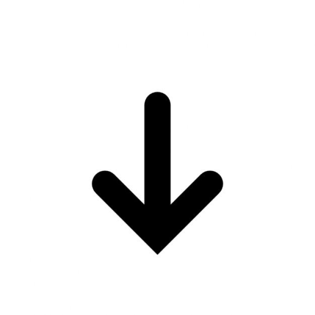 Flèche Vers Le Bas | Icons Gratuite